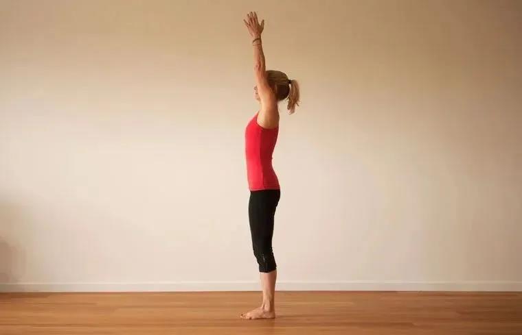 瑜伽拜日式
